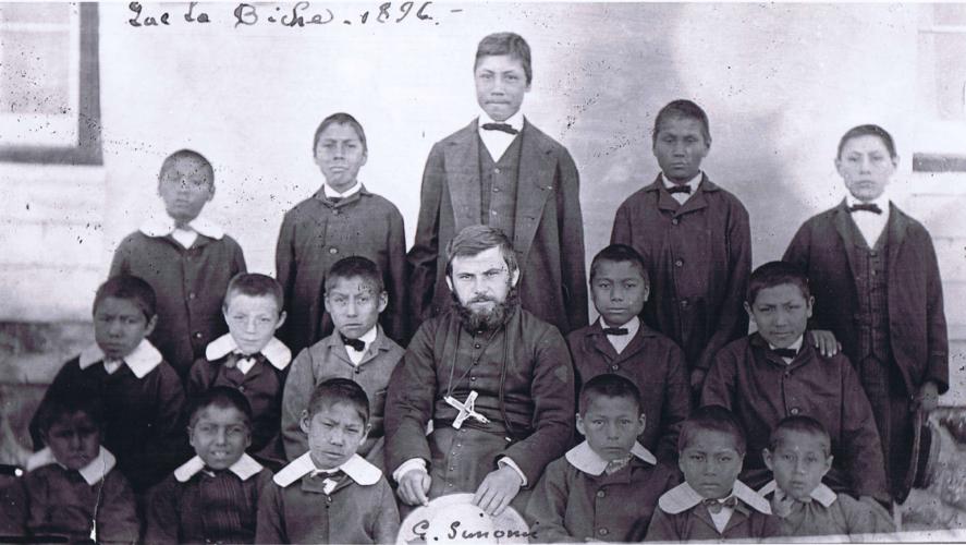 1896 Industrial School Class