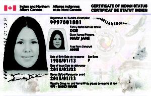 Sample Status Card