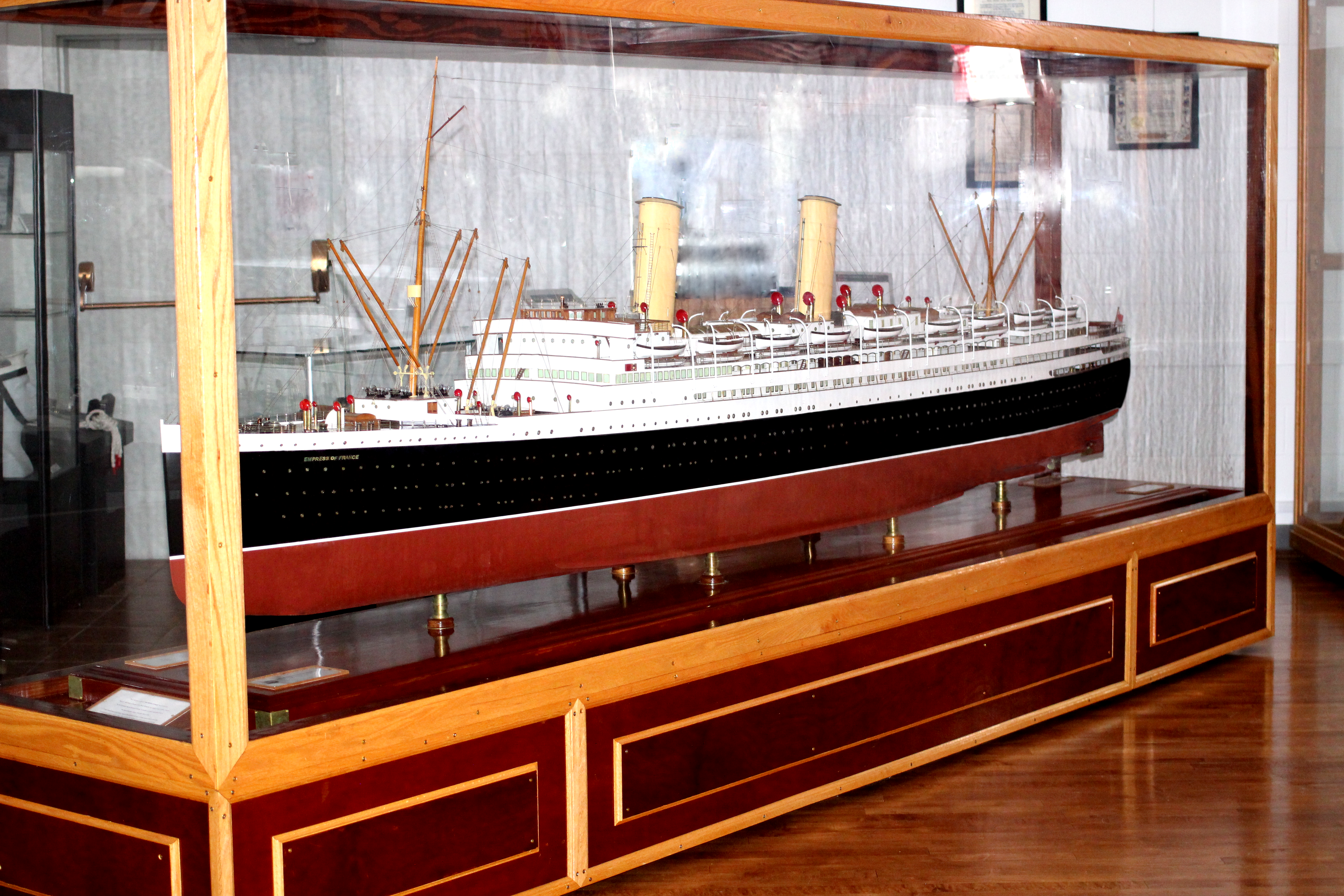 The model of the Empress of France is one of the stars of the Lac La Biche Museum. But how did the model get here and what was the original boat like? Follow the link to find out.