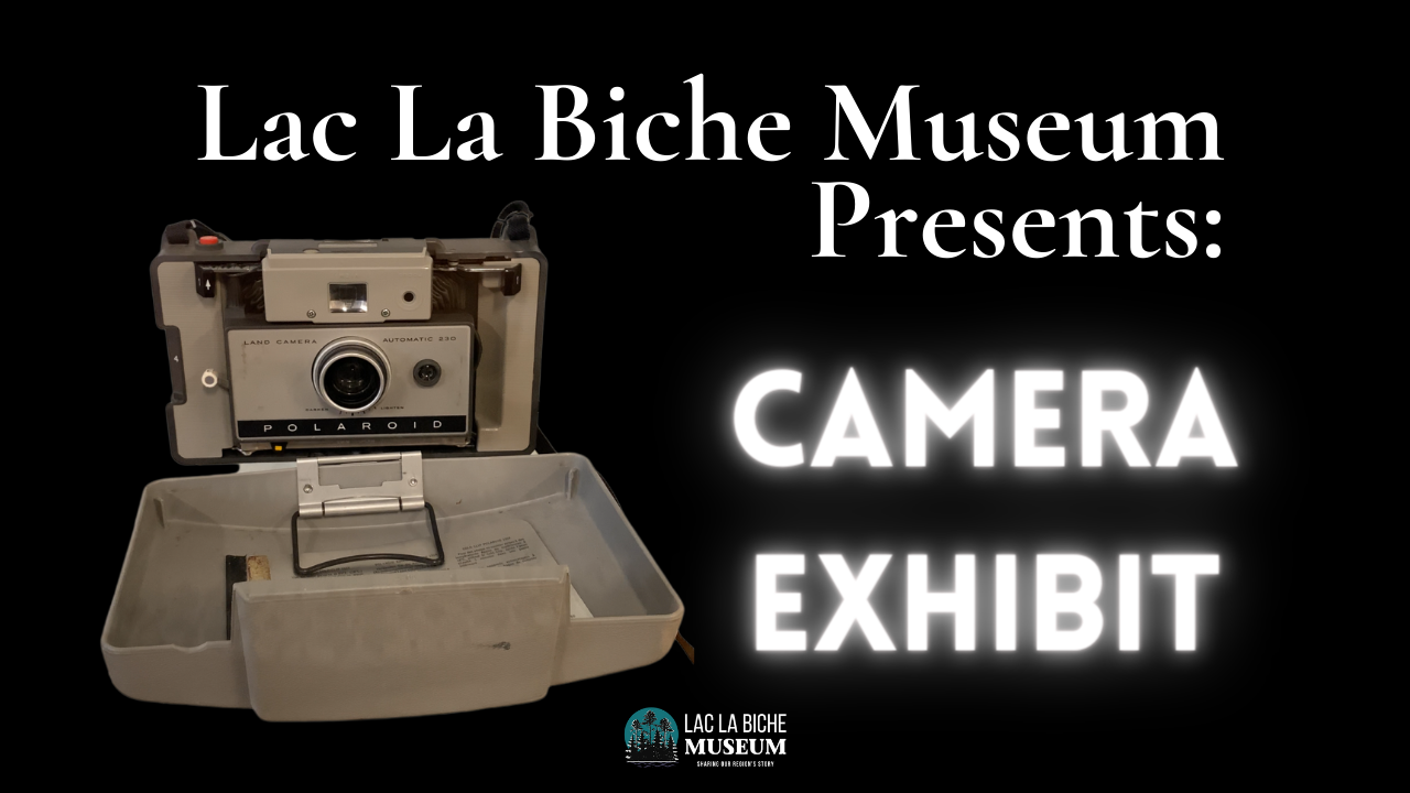 Unfortunately we are still closed, but that doesn't mean we can't show you the fun new exhibits we have! Take a peak behind the scenes with our Collections Manager while she shows us her process to organizing a new exhibit! Plus enjoy a virtual walk through of the completed Camera Exhibit!